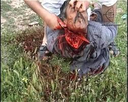 ISIS beheading a christian man