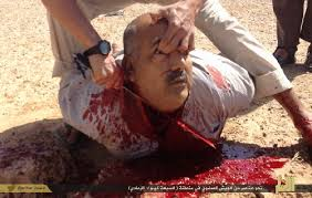 ISIS beheading another  christian man
