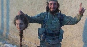 beheaded angel of Kobani
