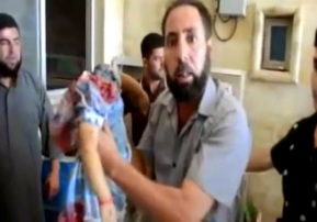 Beheaded child in Syria