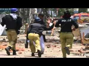PAKISTAN_-police