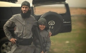 Baghdadis puppy dad and son