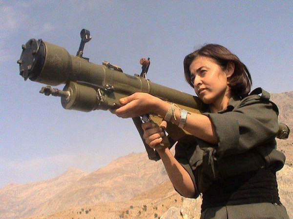 Danish coed joins kobane angels to fight isis christian martyr watch