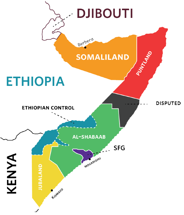 a brief history of somalia a nation in ruins