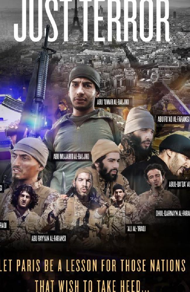 Paris ISIS Poster